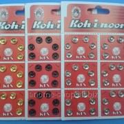 Кнопки пришивные металлические Koh-i-noor d 8.5мм фото