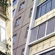 Остекленение балконов фото