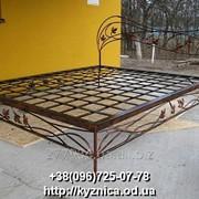 Кованая кровать Модель ККТ-018 фото