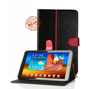 Чехол BeCover Folio PU для Samsung Tab E 9.6 T560, T561 Black/Red (700601), код 132110 фото