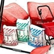 Противогололедный материал Рокмелт (Rockmelt) Salt, мешок 20кг фото