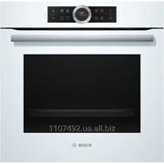 Духовой шкаф Bosch HBG634BW1 белый фото