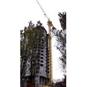 Кран башенный приставной фото