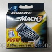 Картридж для бритвы Gillette Mach 3 -8 шт фото