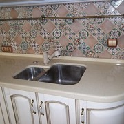 Столешницы кухонные из камня фото