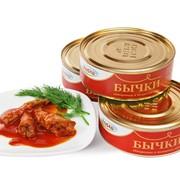 Бычки обжаренные в томатном соусе (банка №3) фото