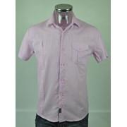 Рубашка мужская (95% хлопок 5% эластан) р.ряд. 46-48-50-52 Артикул: 6203 фото