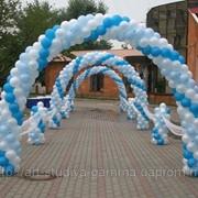Оформление воздушными шарами в Одессе (свадьбы, юбилеи, дни рождения, корпоративы) фото