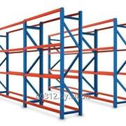 Монтаж складских стеллажей фото