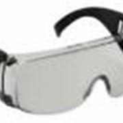 Очки защитные дымчатые с дужками фото