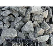 Щебень гранитный РБ 40-70 фото