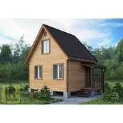 Дом каркасно-щитовой Проект №21 (5х4) фото
