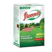 Удобрение Флоровит для газона гранулированное, 1 кг (коробка) фото