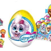 """Шоколадное яйцо с сюрпризом """"Лапусики"""" (шк.-9939) 6/24, 20г. 2591 фото"""