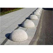 Полусферы бетонные (оградительные элементы) фото