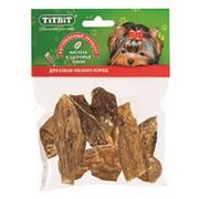 TitBit Dog Вымя говяжье мини - мягкая упаковка лакомство для собак, 60г фото
