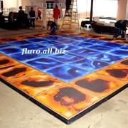 Плитка напольная глянцевая, Жидкая плитка Fluro-Tile фото