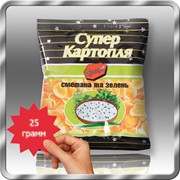 Картофельные снеки со вкусом сметаны и зелени 25 грамм