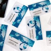 Пластиковые визитки, дисконтные карты фото