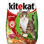 Корм для кошек KITEKAT Мясной пир, 350г фото