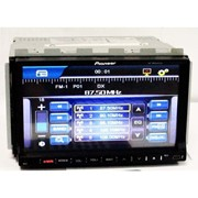 "2DIN Магнитола Pioneer PI-803 GPS 7""+GPS-MР3-DVD+TV+Fm-тюнер фото"