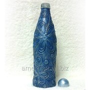 Декоративные бутылки 0.5 л Скай светло синего цвета на подарок фото