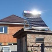 Солнечный коллектор для дачи, загородного дома фото