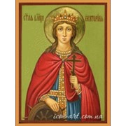 Икона Святой великомученицы Екатерины, может быть выполнена под заказ фото
