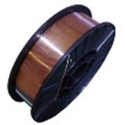 Проволока стальная сварочная омедненная (в мотках, на кассетах) Св-08Г2С Ø - 1,2;1,6; 2. фото