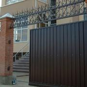 Откатные ворота (консольный тип) фото
