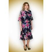 Платье летнее с розами фото