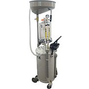 ES-2097 Установка для слива отработанного масла 80л. Воронка+предкамера+6 щупов фото