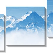 Модульная картина Панорама_горы, Неизвестен фото