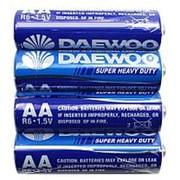Батарейка 142218 АА R 6 S_4 Daewoo Super Havy Duty ( 1.5 v ) (уп.60 шт.) пальчиковая фото