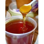 Мед гречишный, Гречишный мёд, Мёд пчелиный фото
