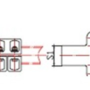 Соединительный зажим типа CЗТ7-Ш фото