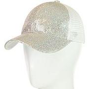 Бейсболка 62017-14 серебро фото