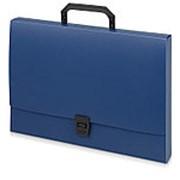 Папка-портфель A4 40 мм с замком 0.70 мм, синий фото