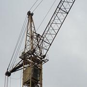Аренда башенного крана КБ-405-1А фото