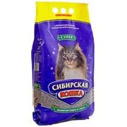 Наполнитель Сибирская кошка Супер комкующийся 5л фото