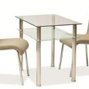 Стол стеклянный Pixel, куплю стеклянный стол, стол стеклянный кухонный, стеклянный стол цена фото