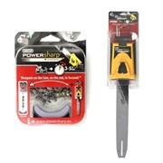 Шина+цепь+заточное устройство Oregon 16-3/8-1,3 Power Sharp (56 звеньев) для бензопил Husqvarna 41/136/137/141/142 фото