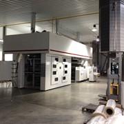 Итальянская широкорулонная Флексопечатная машина фото