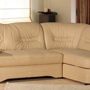 Кожаный угловой диван Milano 2,30 на 1,6 м. фото