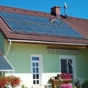 Монтаж систем солнечного нагрева воды, гелиосистемы фото