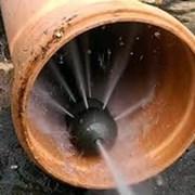 Гидродинамическая прочистка канализации фото