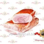 Бочок Деревенский продукт из свинины копчено-вареный фото