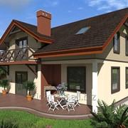 Проект двухэтажного трехкомнатного дома Ферк, 174,9 кв.м. фото