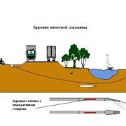 Прокладка водопровода методом ГНБ фото