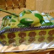 Торт тематический Танк №0187 код товара: 4-0187 фото